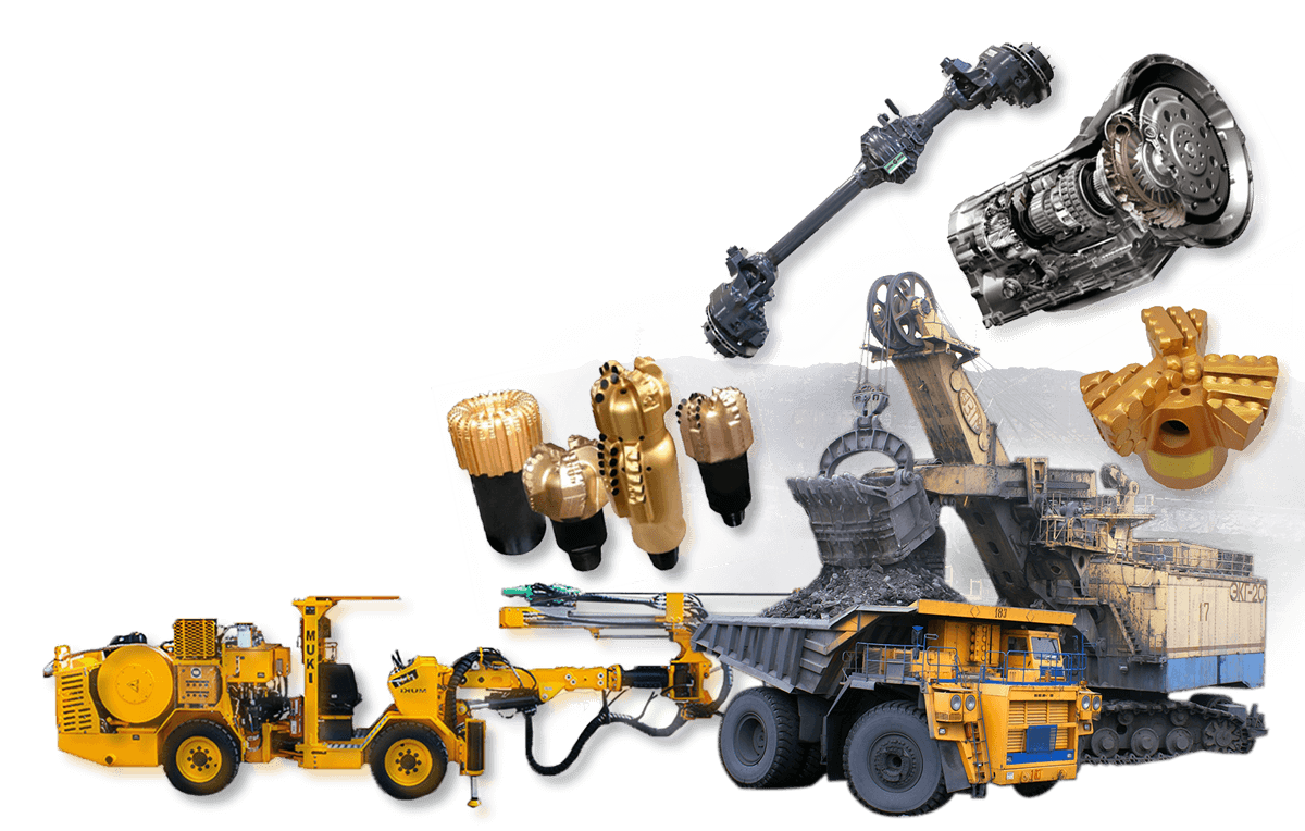 Mining Collage3 - Mining & Drilling